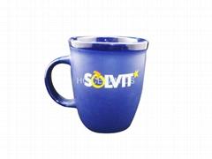 Glossy inside  matte outside mug , 12oz