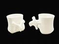 Lumbar mug, ceramic mug