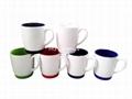silicon rubber bottom mug