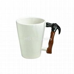 Hammer handle mug