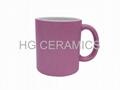 Glitter  Mug ,Purple