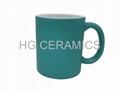 Glitter  Mug ,Green