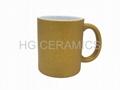 Glitter  Mug ,Gold