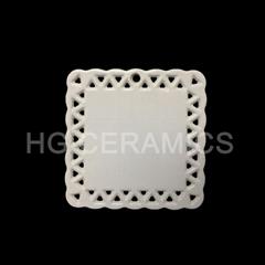 Square shape ceramic  Ornaments