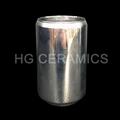 Metallic glass coke can