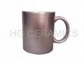 Sublimation Pink Pearl  mug