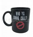 11oz Color  change mug , Black