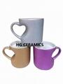 Glitter Heart Mug