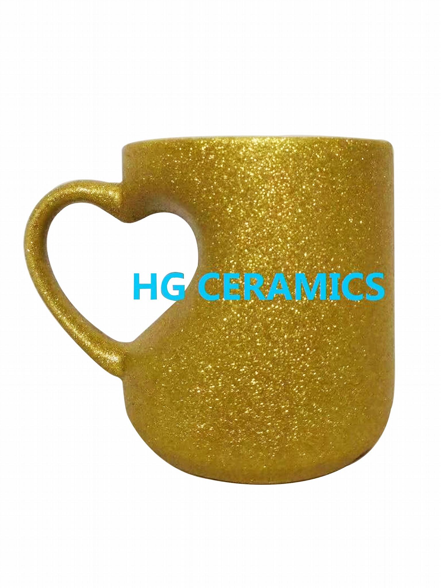 Glitter Heart Mug  3