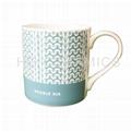 13oz  bone china mug
