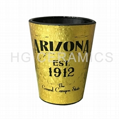 Laser decal paper Shot glass