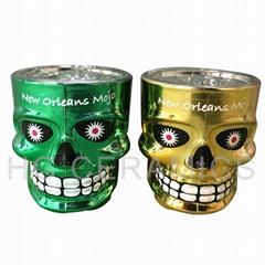 Metallic Skull shot glass