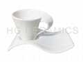 Fine porcelain cup&saucer sets
