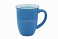 14oz Flare shape  mug , blue