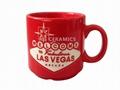 Las Vegas laser Mug