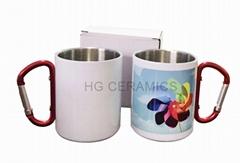 Sublimation  SS  Carbiner mug