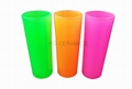 Neon color shooter glass