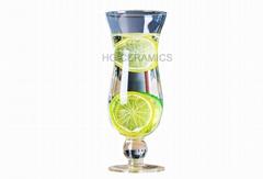 450 ml  Glass mug