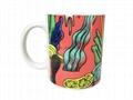 11oz Sublimation mug with inside decal