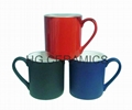 11oz  color change bone china mug , Fine bone china mug ,matte finished