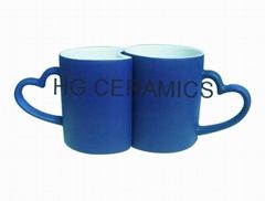 Lover Color change mug . color change lover mug