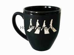 14oz coffee mug with   laser logo