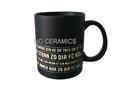 11oz matte finished mug with laser logo  , Sandblast  Mug
