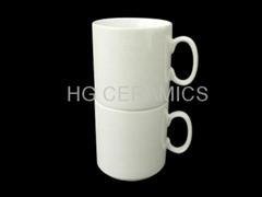 Sublimation procelain mugs