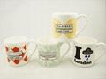 Ash  fine bone china mug ,10oz 2