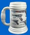 ceramic beer stein 2