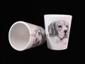 Ceramic Shot Glass, sublimation coated
