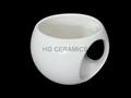 Round ball mug