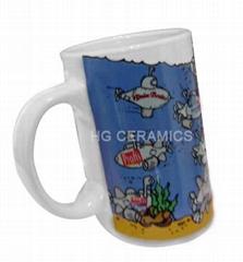 slant ceramic mug