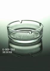 glass ashtray