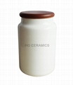 Sublimation coated Ceramic Canister