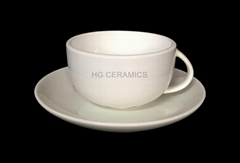 porcelain cup with saucer,160ml