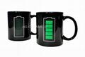 Battery  color change   mug