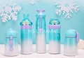 Sublimation Snow and ice series bottle