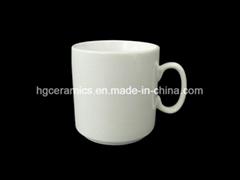 stackable porcelain mug