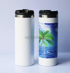 sublimation Starbucks style thermal flask