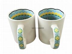 11oz Sublimation inner decal printing mug