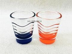 Wave shot glass