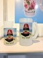 sublimatin glass mug, frosted