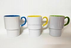 sublimation stackable mug