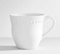 16oz Ceramic mug with embossed dots
