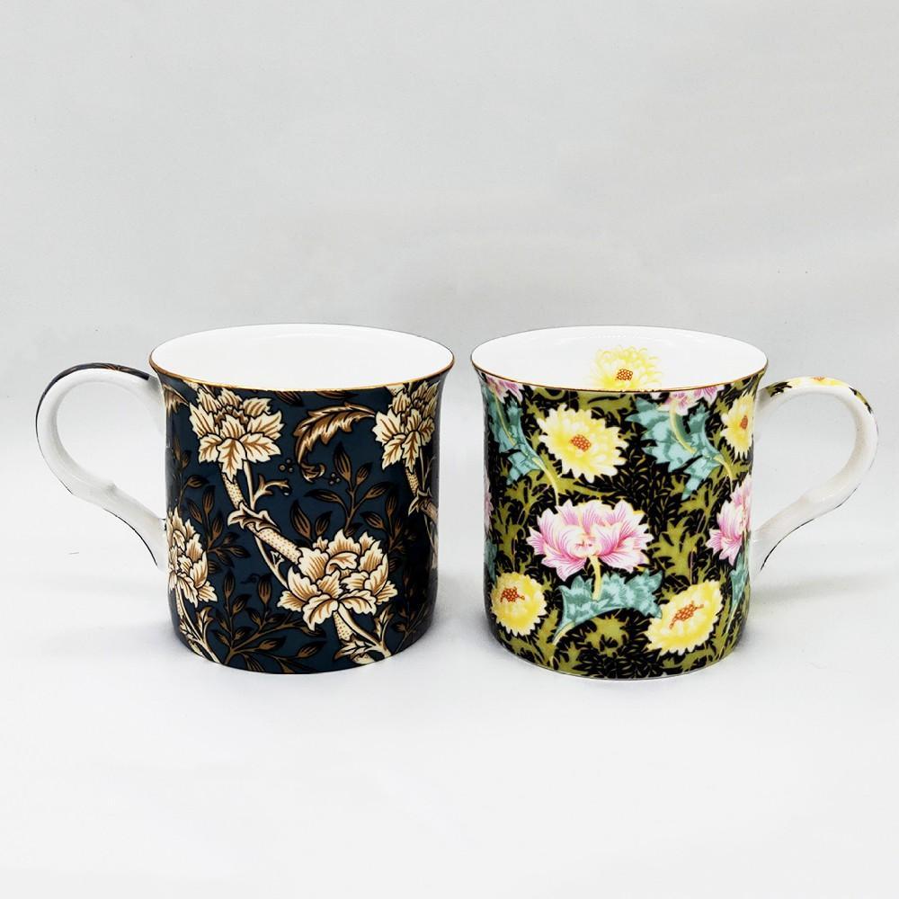 9oz fine bone china mug,flare shape 1