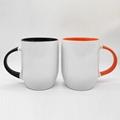 12oz U shape sublimation mug , color in