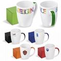 12oz sublimation mug with decal printing