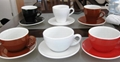 ACF style ceramic cup and saucer 2