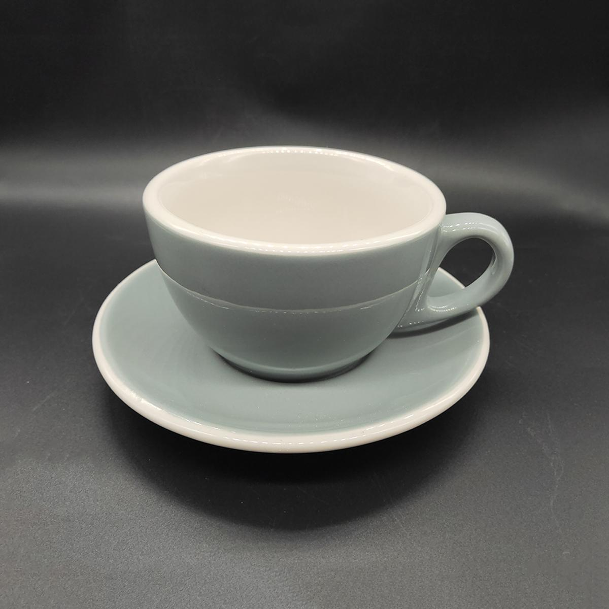 ACF style ceramic cup and saucer 3